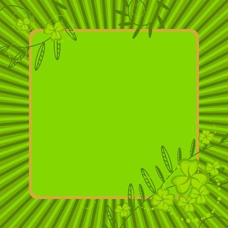 St. Patricks Day card Vector