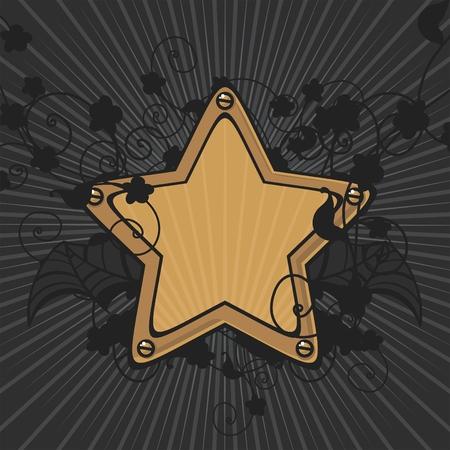 Star background Stock Vector - 6669173
