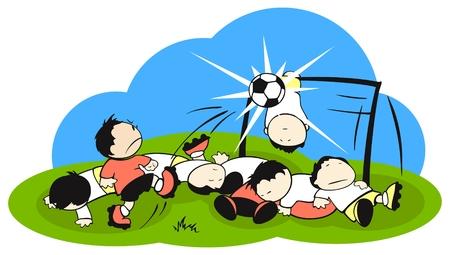 caucasians: Campo di battaglia di calcio (calcio)