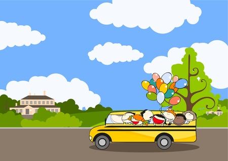 Chemin de l'école