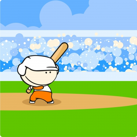 baseball stadium: Baseball player