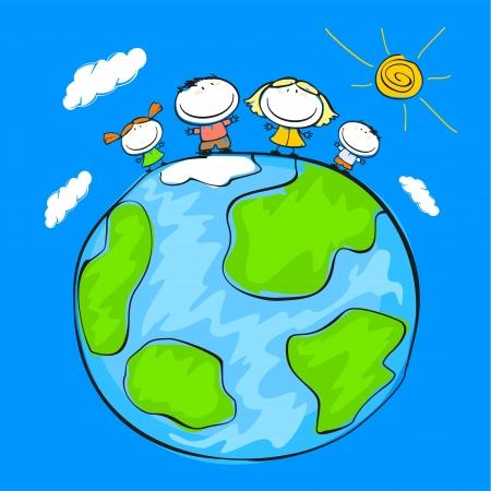 peace on earth: Happy family