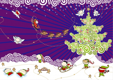 Christmas celebration Vector