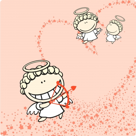 pranks: Cupids Illustration