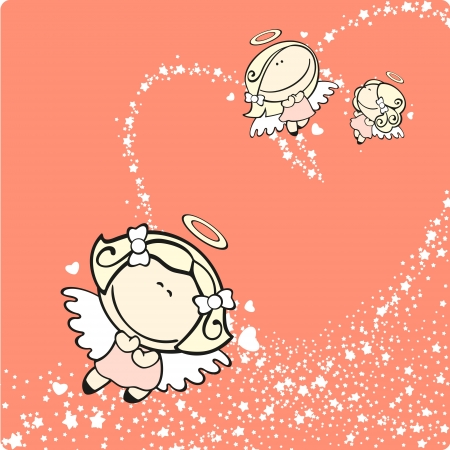 Cupids Stock Vector - 17450659