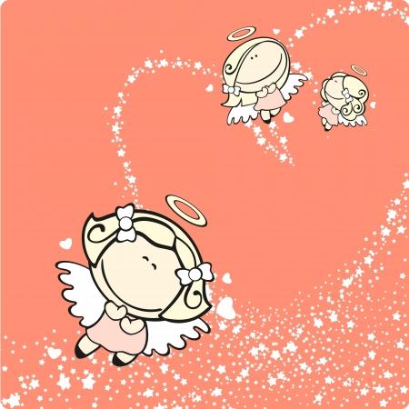 Cupids Stock Vector - 17450659