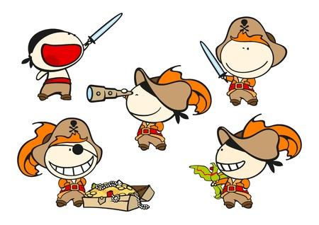 Funny kids - pirates