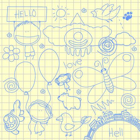 Doodles Vector