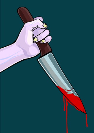 blooded: Zombie with a knife