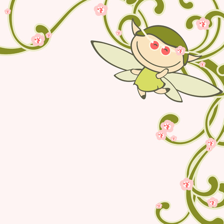 faery: Spring fairy Illustration