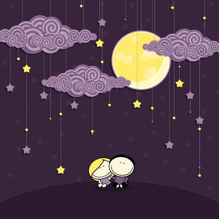 night: Night nursery Illustration