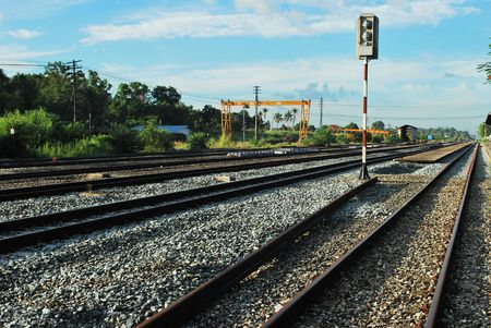 shunt: Rail Stock Photo