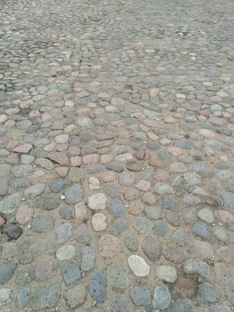 Stone roads in St. Petersburg Banque d'images - 133061851