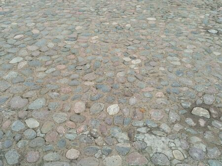 Stone roads in St. Petersburg Banque d'images - 133061600