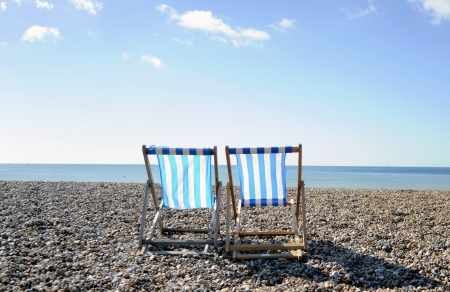 Deck Chairs, Brighton photo