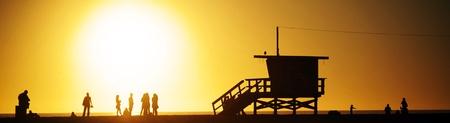 malibu: Sunset on Malibu Beach