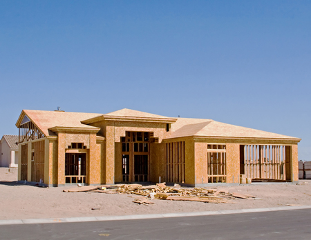 nevada: New Home Construction site – Residential