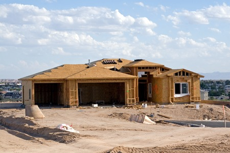 New Home Construction site – Residential