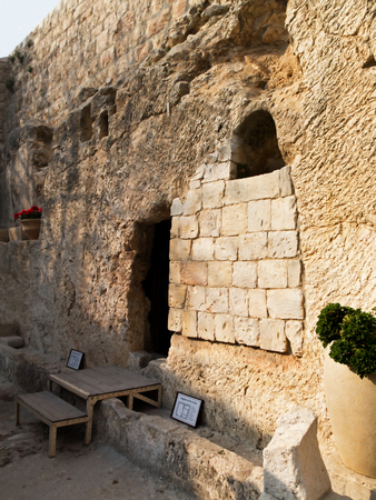 Garden Tomb- Thought to be one of the possible site of Jesus Burial
