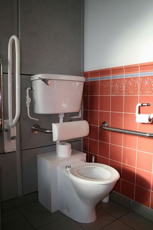 Disabled Toilet Facilities Imagens