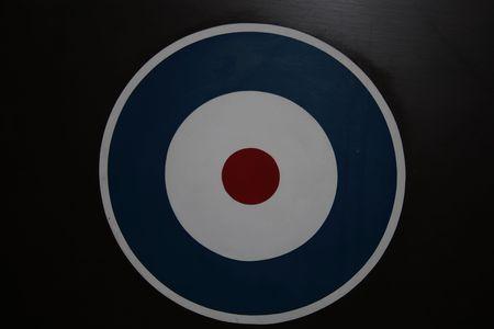RAF Roundel Insignia. WW2 photo