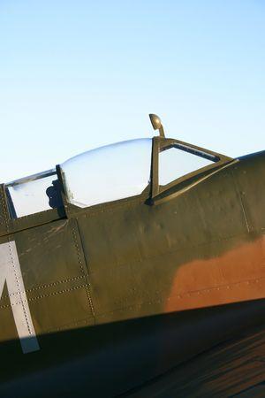 Spitfire Cockpit photo