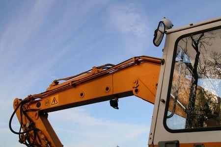 Construction Digger photo
