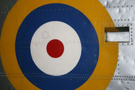 raf: RAF Roundel WW2 Stock Photo
