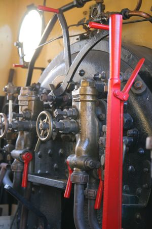 footplate: Steam Engine Footplate
