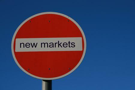 New Markets Imagens