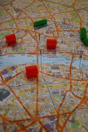 London Property Concept Imagens