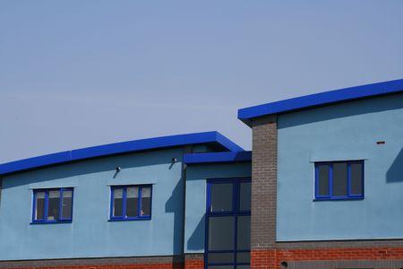 Modern Blue Apartments Imagens