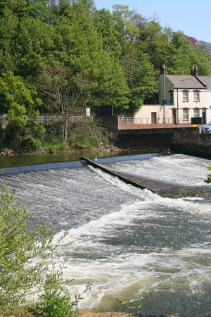 River and Weir Imagens