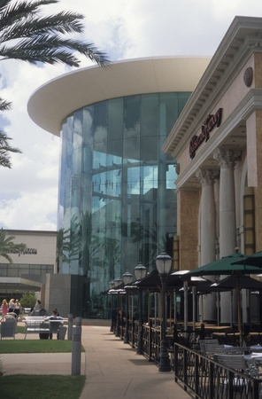 Upscale shopping at The Mall at Millenia in Orlando, FL. Editorial