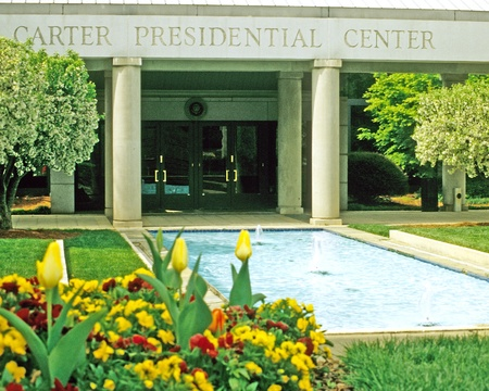 Carter Presidential Center entrance