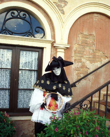 Costumed character in World Showcase - Italy at Disney World