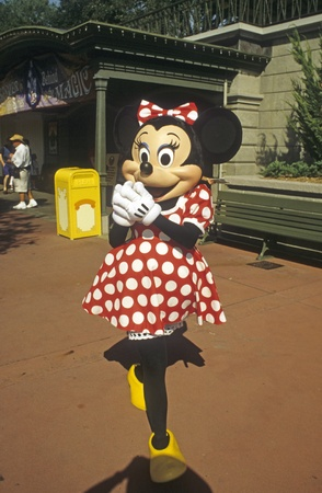 Disney World Magic Kingdom - Minnie Mouse