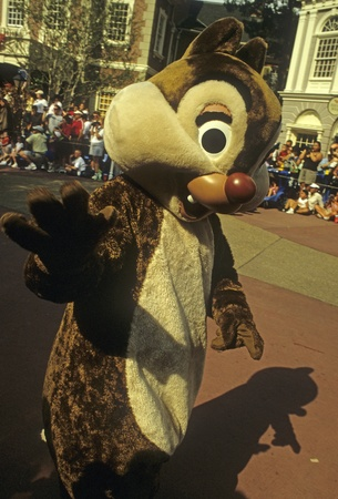 Disney World Magic Kingdom character - Chip