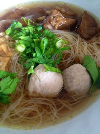 noodle soup: Beef noodle soup