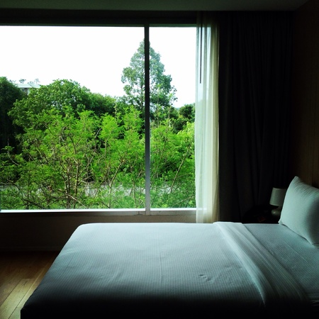 pillows: Bedroom view