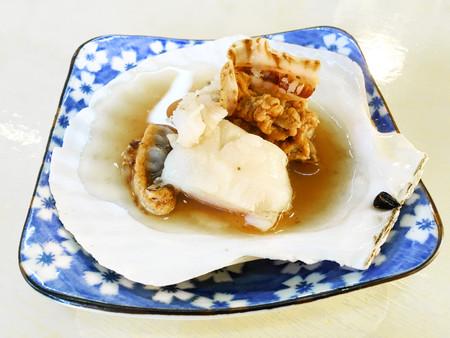 petoncle: pétoncles grillés ou Hotate japonaise Banque d'images