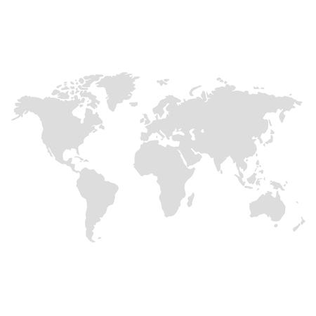 vettore dell'illustrazione della mappa del mondo
