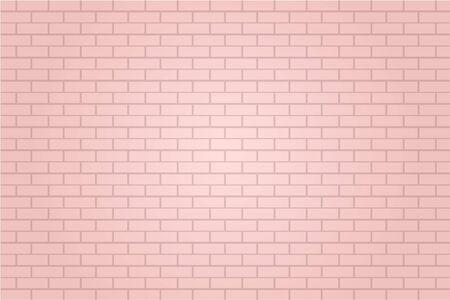 pastel pink brick tile wall background illustration vector 矢量图像
