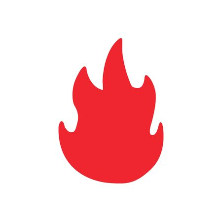 fire ball icon illustration vector