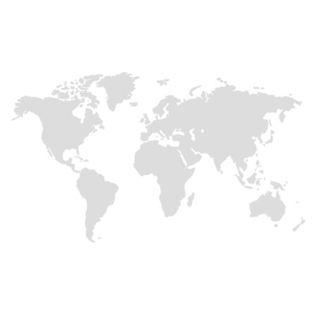 Weltkarte Illustrationsvektor