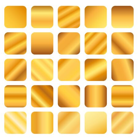 beautiful gold gradient color for design.