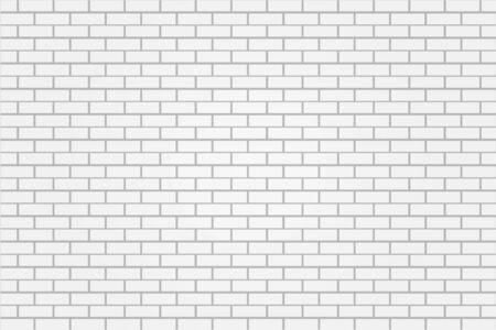 vecteur d'illustration de fond de mur de carreaux de brique blanche