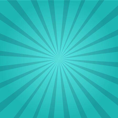 vettore del fondo della carta da parati di scoppio del sole blu