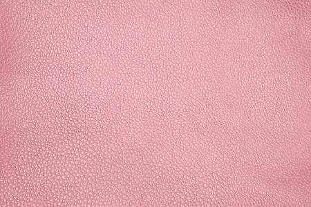 Closeup pink leather textured background
