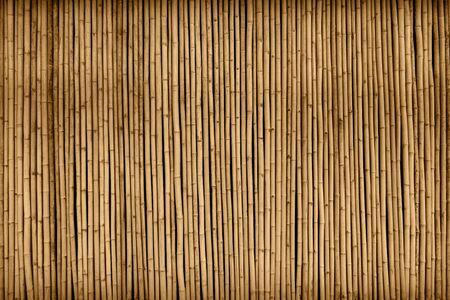 brown bamboo fence texture background Zdjęcie Seryjne